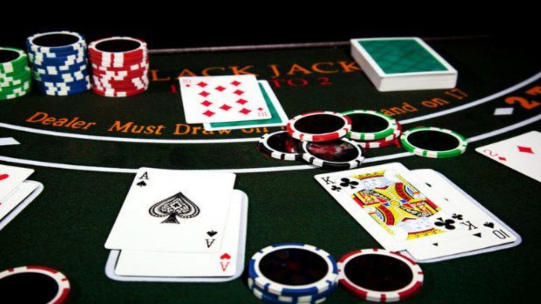 table blackjack